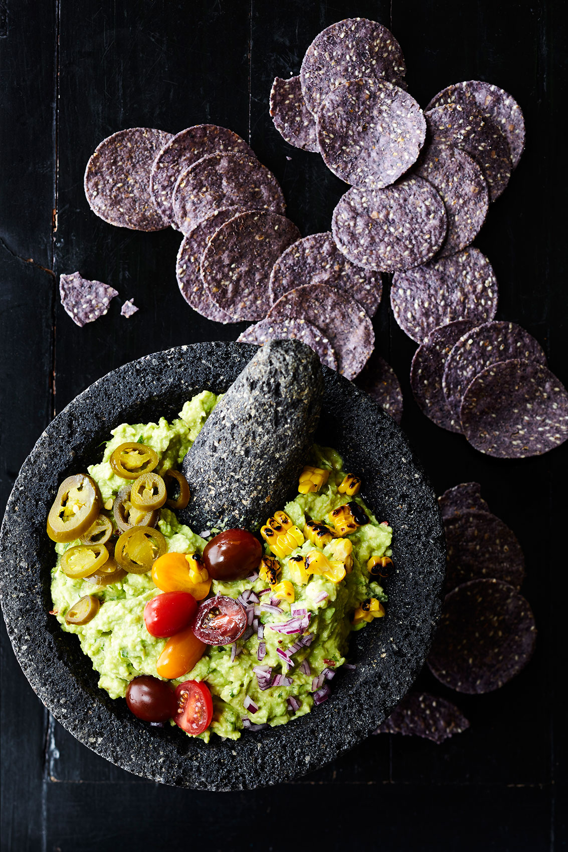 Mexican Guacamole – Cookbook & Magazine Food Photography