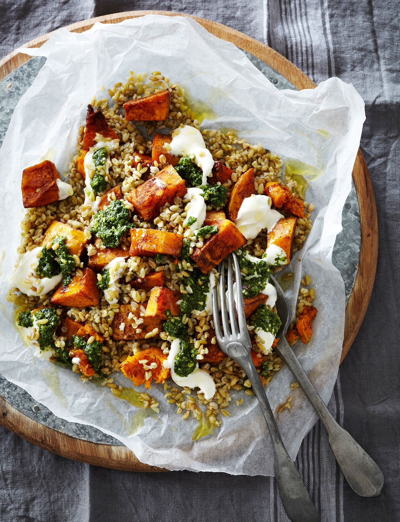 Penguin_Salads_Grains_ButternutFreekah